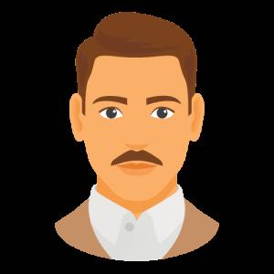 Chevron moustache