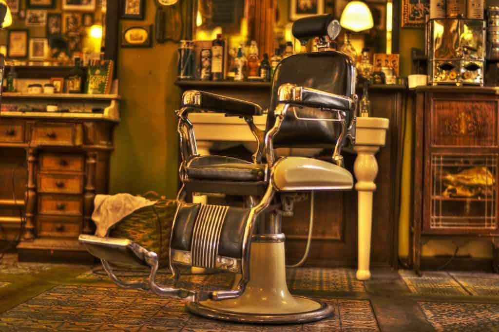 Barbershop seat