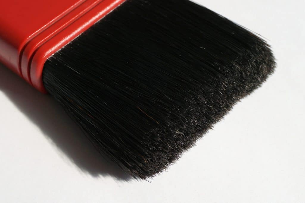Staining brush
