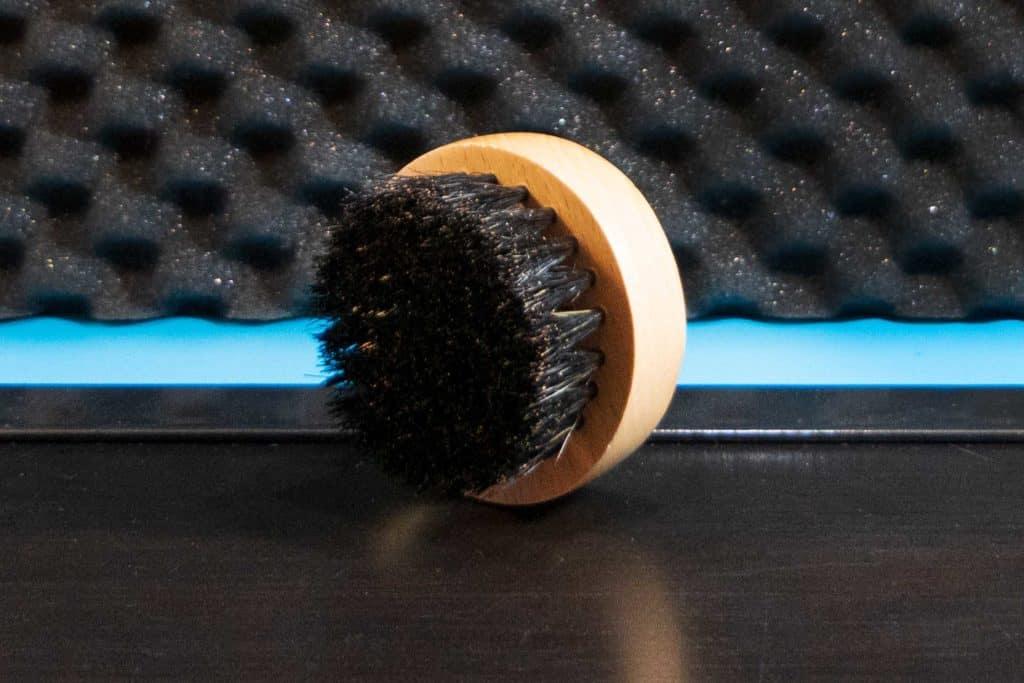 Bartstoppel Bartbürste