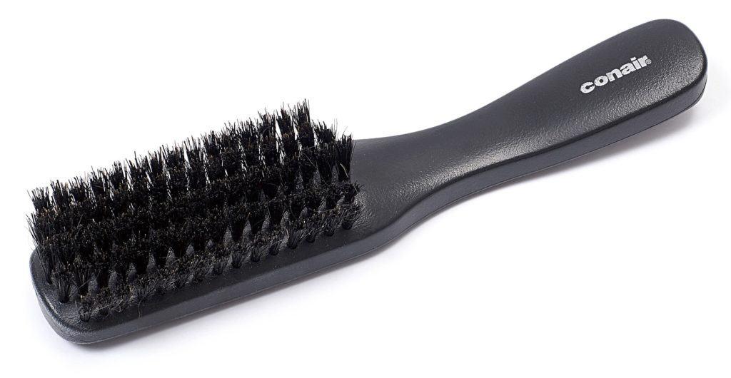Bartbürste mit Handgriff